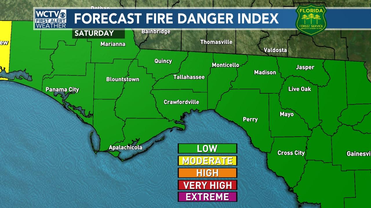 Forecast Fire Danger Index
